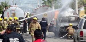 Atención oportuna en explosión ocurrida en Polígono 108 en Mérida