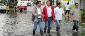 Intensifica gobierno de Paul Carrillo mantenimiento de pozos de absorción