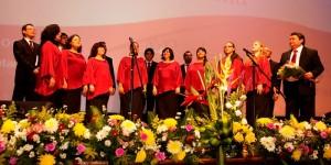 Voces en armonía inundan el Festival Internacional de la Cultura Maya 2013