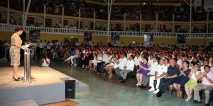Nuestro compromiso en DIF Campeche es defender los sectores más vulnerables: Adriana Hernández
