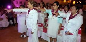 Mariana Zorrilla de Borge toma protesta  al DIF de Isla Mujeres Quintana Roo