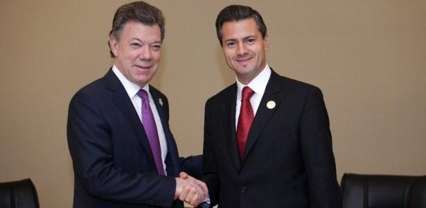 EPN CON SU HOMOLOGO DE COLOMBIA