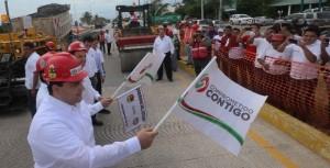 Pone en marcha el gobernador de Quintana Roo rehabilitación del bulevar Luis Donaldo Colosio