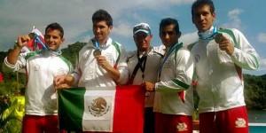 Felicita el gobernador de Quintana Roo a Javier López Quintero, ganador del Oro en Canotaje en los juegos Panamericanos
