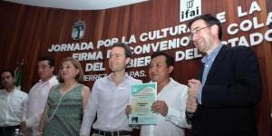 Reconoce IFAI al gobierno de Manuel Velasco Coello en Chiapas por apostarle a la transparencia
