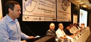 Participa el alcalde de Cancún Paul Carillo en la inauguración de Asamblea de Controladores Aéreos