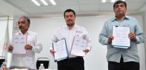 Firman convenio Órgano Superior de la Fiscalización de Tabasco e Instituto de Contadores Públicos