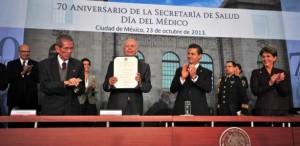 Salud Universal en la calidad de vida de todos los mexicanos: Enrique Peña Nieto