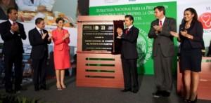 Encabeza el Presidente Peña Nieto la Estrategia Nacional para prevenir y controlar sobrepeso, obesidad y diabetes