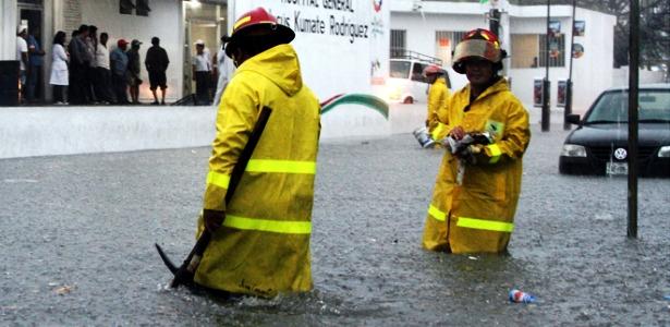 Cancún lluvias