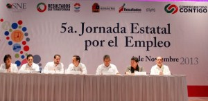 Inauguran 5ª jornada estatal por el empleo en Quintana Roo
