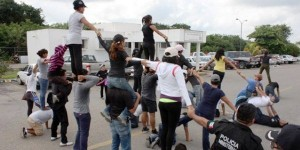 Alistan nutrido contingente para desfile del 20 de noviembre en Yucatán