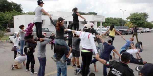 alistan desfile yucatan