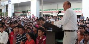 Son los jóvenes reserva de talento para el desarrollo de Tabasco: Antonio Ferrer