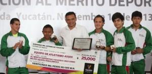 Yucatán debe seguir siendo una potencia deportiva nacional: Rolando Zapata Bello