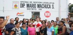 Inaugura el legislador local Mario Machuca segunda casa de gestión legislativa en Cancún