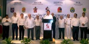 Encabeza reunión de Seguridad zona Sureste el secretario de gobernación en Veracruz