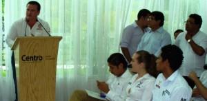 El gobierno en Tabasco no deben olvidarse de los jóvenes: Rodolfo Pérez