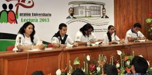 Realiza UJAT Maratón Universitario de Lectura en honor a Revolucionarios