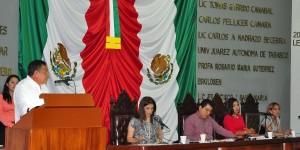 Rinde cuentas General Audomaro Martínez sobre situación de seguridad en Tabasco