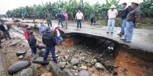 Solicita Elda María Llergo Asmitia, declarar Teapa como zona de desastre