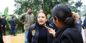 Suspende Elda Llergo su primer informe de labores por contingencia en Teapa