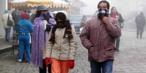 Bajas temperaturas y lluvias en el país