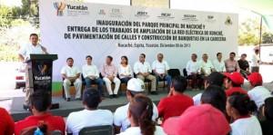 El compromiso con Yucatán, más firme que nunca: Rolando Zapata Bello
