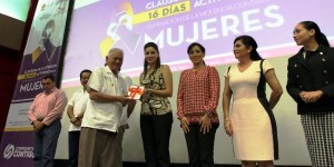 Clausura Mariana Zorrilla de Borge jornada de activismo para eliminar violencia contra las mujeres