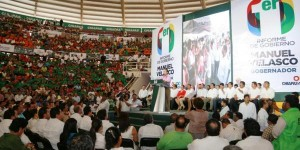 Desde Tapachula rinde Manuel Velasco Coello Primer Informe Regional de Gobierno