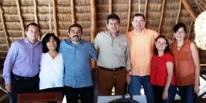 Se reúnen en Tulum el grupo de trabajo de gobernadores para el Clima y los bosques de México