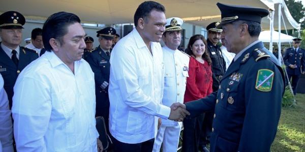 ceremonia cambio de mando yucatan