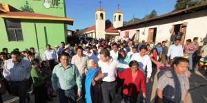 Con más obras de desarrollo se detonará el progreso de la región Sierra chiapaneca