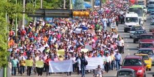 Si no hay solución a los afectados por PEMEX,  continuaran marchas en Tabasco: Verónica Pérez