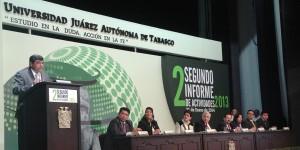 Vamos a seguir creciendo en la UJAT: José Manuel Piña Gutiérrez