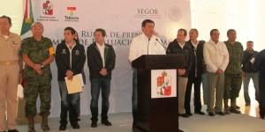 Federación invertirá mil 700 millones de pesos para Tabasco: Osorio Chong