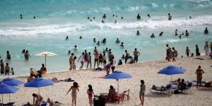 Prevalecen altos índices de ocupación hotelera en Cancún y Puerto Morelos