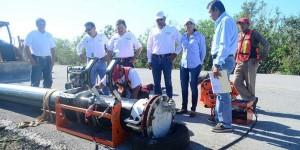 El gobierno de Roberto Borge invierte 50 millones de pesos en infraestructura hidráulica para Mahahual