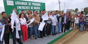 Inicia Ayuntamiento de Coatzacoalcos  bacheo en Allende