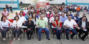 Impulsa Gobierno de Coatzacoalcos la educación en zonas vulnerables