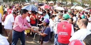 Inician en el puerto de Veracruz Cruzada Nacional contra el Hambre; benefician a mil 500 familias