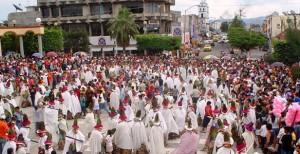 El carnaval más raro del mundo en Tenosique
