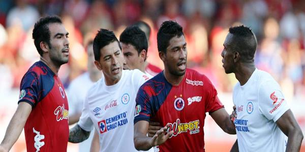 Cruz Azul vs Veracruz 2014