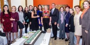 Asiste Sarita Blancarte de Zapata a informe del DIF de Oaxaca