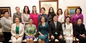 Asiste Mariana Zorrilla de Borge al Informe de Mariana González Foullón en Tlaxcala