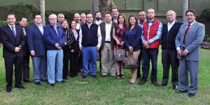 Se reúne gobernador Javier Duarte con dirigentes de cámaras empresariales de Xalapa