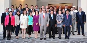 En el gobierno de Veracruz trabajamos por el bienestar de las familias: Javier Duarte