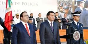 En Veracruz, esfuerzos y resultados en materia de seguridad: Osorio Chong
