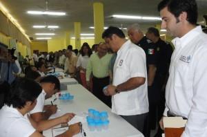 Aplican exámenes de sustancias prohibidas a operadores del transporte en Yucatán