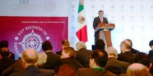 El Gobernador de Yucatán participa en Reunión de Embajadores y Cónsules de México